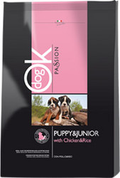 Ok Passion Puppy&Junior with Chicken&Rice 3 кг