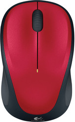 Logitech Wireless Mouse M235 Red (910-002497)