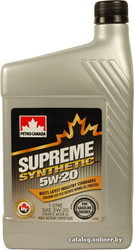 Отзывы о Petro-Canada Supreme Synthetic 5w-20 4л