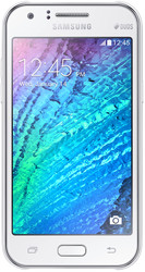 Samsung Galaxy J1 White [J100F/DS]