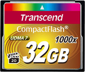 Transcend 1000x CompactFlash Ultimate 32GB (TS32GCF1000)