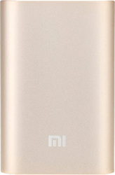 Xiaomi Mi Power Bank 10000mAh (золотистый) [NDY-02-AN]