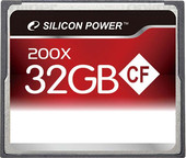 Silicon-Power 200X Professional CompactFlash 32 Гб (SP032GBCFC200V10)