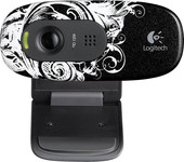 Logitech HD WebCam C270 Fleur Dark (960-000726)