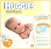 Huggies Newborn 2 (88 шт)