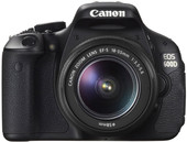 Canon EOS 600D Double Kit 18-55mm II IS + 55-250mm IS STM