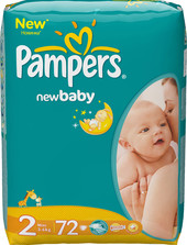 Pampers New Baby 2 Mini (72 шт)