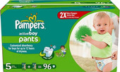 Pampers Active Boy 5 Junior (96 шт)