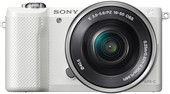 Sony Alpha a5000 Kit 16-50mm (белый)