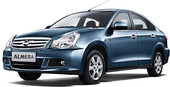 Nissan Almera Comfort Plus (F-BCC) Sedan 1.6i 4AT (2012)