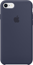 Apple Silicone Case для iPhone 8 / 7 Midnight Blue
