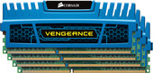 Corsair Vengeance Blue 4x4GB DDR3 PC3-12800 KIT (CMZ16GX3M4A1600C9B)