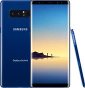 Samsung Galaxy Note8 Single SIM 64GB (синий сапфир)