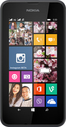 Nokia Lumia 530 Dual SIM Dark Grey