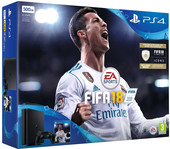 Sony PlayStation 4 Slim FIFA 18 500GB (черный)