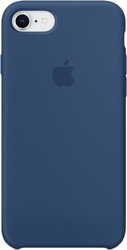 Apple Silicone Case для iPhone 8 / 7 Blue Cobalt