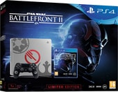 Sony PlayStation 4 Slim 1TB Battlefront II Limited Edition (серый)
