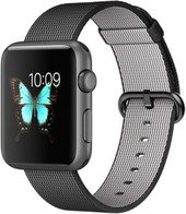 Apple Watch Sport 42mm Space Gray with Black Woven Nylon [MMFR2]