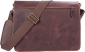 Troop London Heritage Messenger Bag (L) (TRP0292)