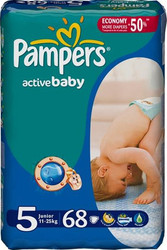 Pampers Active Baby 5 Junior (68 шт)