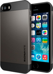 SGP Slim Armor S Gunmetal for iPhone 5/5s (SGP10475)