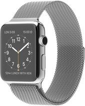 Apple Watch 42mm Stainless Steel with Milanese Loop (MJ3Y2)
