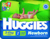 Huggies Newborn 2 (32 шт)