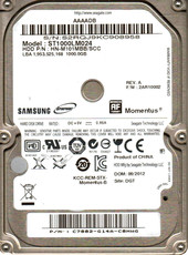 Seagate Momentus 1TB (ST1000LM024)