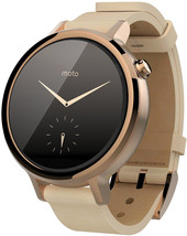 Motorola Moto 360 2nd Gen. Womens 42mm Rose Gold + Blush