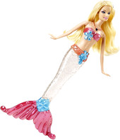 Mattel Barbie Sparkle Lights Mermaid Barbie Doll (V7047)