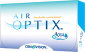 Ciba Vision Air Optix Aqua (от -0,5 до -6,0) 8.6мм