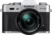 Fujifilm X-T10 Double Kit 16-50mm + 50-230mm Silver