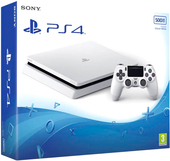 Sony PlayStation 4 Slim 500GB (белый)