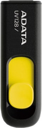 A-Data DashDrive UV128 Black/Yellow 32GB (AUV128-32G-RBY)