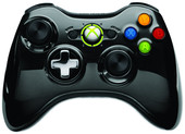 Microsoft Xbox 360 Wireless Controller Chrome Black