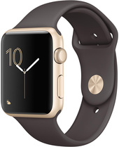 Apple Watch Series 2 42mm Gold with Cocoa Sport Band [MNPN2]