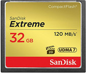 SanDisk Extreme CompactFlash 32GB [SDCFXSB-032G-G46]