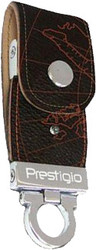 Prestigio Leather Flash Black Map with Red Line 16 Гб (PLDF16MPBRA)