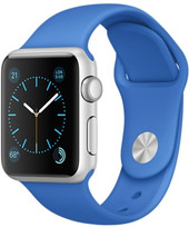 Apple Watch Sport 38mm Silver with Royal Blue Band [MMF22]