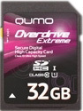 QUMO Overdrive Ultimate SDHC Class 10 32GB (QM32GSDHC10U1EX300)
