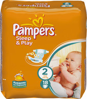 Pampers Sleep&Play 2 Mini (18 шт)