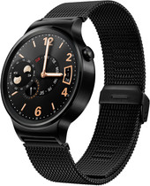 Huawei Watch Black with Black Mesh Band