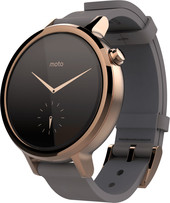 Motorola Moto 360 2nd Gen. Womens 42mm Rose Gold + Stone Gray