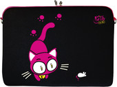 "DIGITTRADE Netbook Sleeve 10.2"" Kitty to Go (LS141-10)"