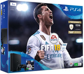 Sony PlayStation 4 Slim FIFA 18 1TB (черный)