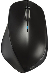 HP X4500 Wireless Mouse Metal Black (H2W26AA)