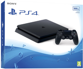 Sony PlayStation 4 Slim 500GB (черный)