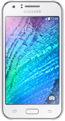 Samsung Galaxy J1 White [J100H/DS]