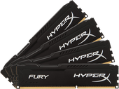 HyperX Fury 4x8GB DDR4 PC4-19200 HX424C15FB2K4/32