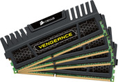 Corsair Vengeance Black 4x4GB DDR3 PC3-12800 KIT (CMZ16GX3M4A1600C9)